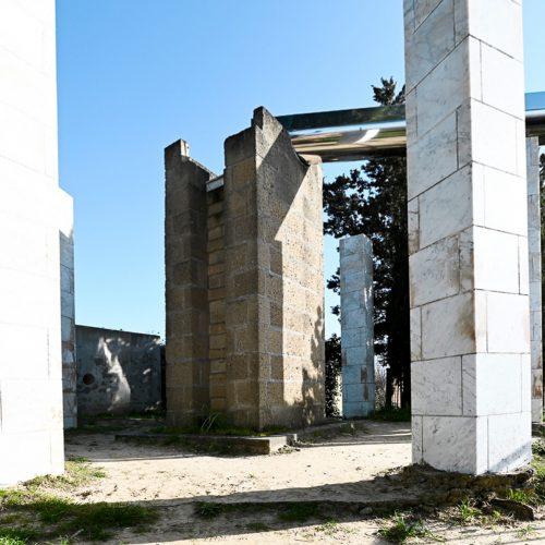 Acropoli e Fontana, le installazioni di Vittorio Messina alla Castellaccia
